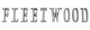 "Trunk Emblem, 1962-63 ""Fleetwood"" (Letter)"