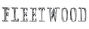 """Cadillac Trunk Emblem, 1965-67 """"Fleetwood"""" (Letters)"""