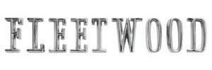"""Trunk Emblem, 1965-67 """"Fleetwood"""" (Letters)"""