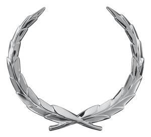 Cadillac Trunk Emblem, 1965-66 Eldorado & Fleetwood (Wreath)