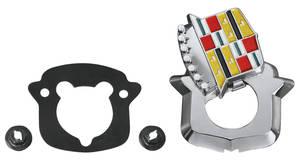 Eldorado Lock Cover Emblem, 1971-76 (Crest)