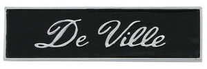 "Cadillac Dash Emblem, 1967-68 ""DeVille"""