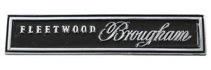"Cadillac Dash Emblem, 1966 ""Fleetwood Brougham"""