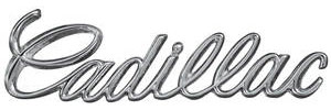 """1968-1968 Cadillac Dash Emblem, 1968 """"Cadillac"""""""