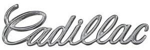 """Dash Emblem, 1968 """"Cadillac"""""""