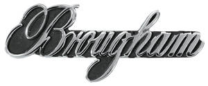 "Cadillac Dash Emblem, 1975-76 ""Brougham"""