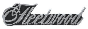 """1975-1976 Cadillac Dash Emblem, 1975-76 """"Fleetwood"""""""
