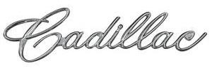 "Glove Box Emblem, 1963-65 ""Cadillac"" (Script)"