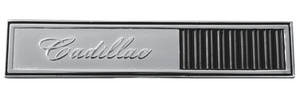 1964-1964 Cadillac Glove Box Emblem, 1964 (Badge)
