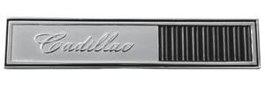 Cadillac Glove Box Emblem, 1964 (Badge)
