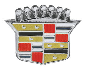 Cadillac Steering Wheel Emblem (Crest) (Except 1965 with Tilt & Telescoping)