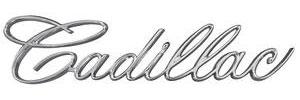 1967-1967 Cadillac Headlight Emblem, 1967 Eldorado (Script)