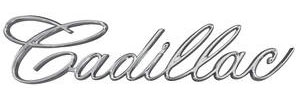 Cadillac Headlight Emblem, 1967 Eldorado (Script)