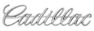 Cadillac Grille Emblem, 1968 (Script)