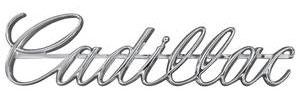 Cadillac Headlight Emblem, 1968 Eldorado (Script)