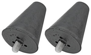 1954-1955 Cadillac Suspension Bump Stop (Lower Arm), by Steele Rubber Products