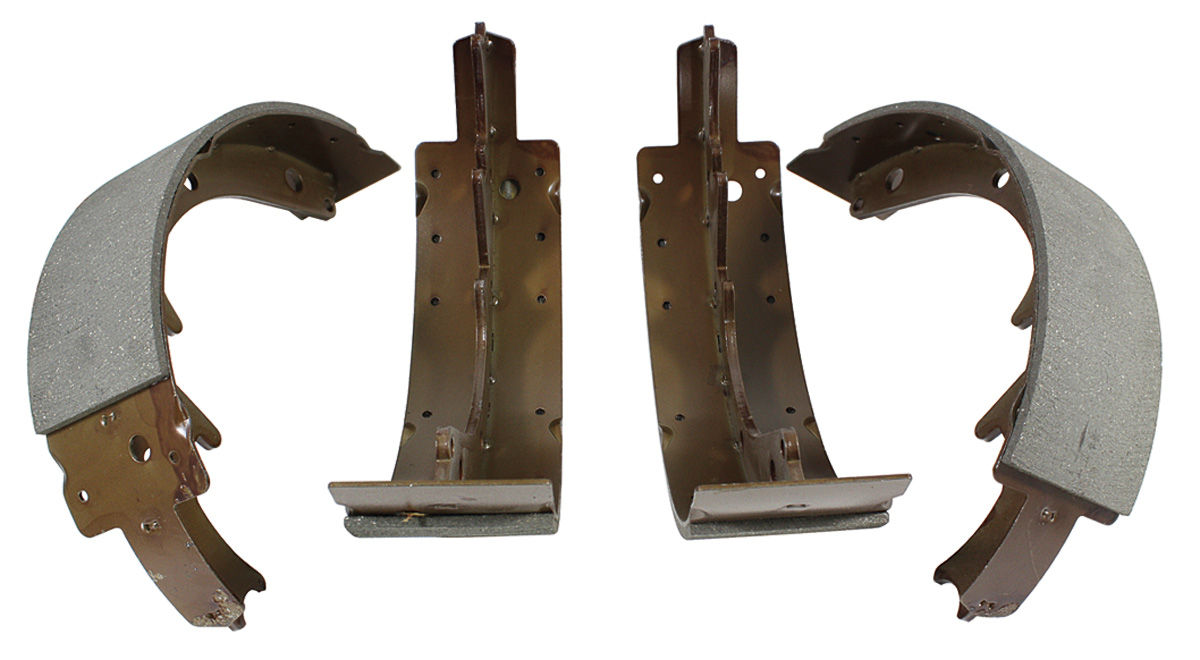 "Photo of Brake Shoes, Bonneville & Catalina (Drum) Economy front, 11"" x 2-3/4"""