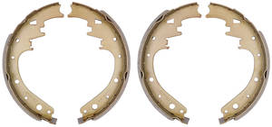 "1965-70 Brake Shoes, Bonneville & Catalina (Drum) Economy Rear, 11"" X 2"""