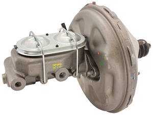 1968-70 Cadillac Brake Booster & Master Cylinder (Power) Disc - Except Eldorado/Series 75/Commercial Chassis