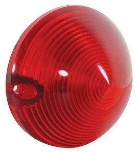Cadillac Tail Lamp Lens, 1957 - W/O Guide Markings