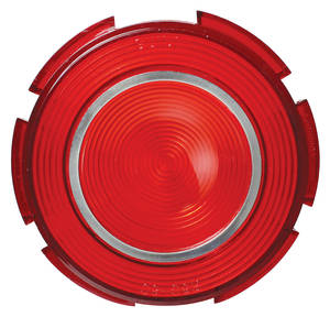 Series 62/65/Calais Tail Lamp Lens, 1960 (Round)