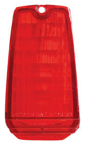 Eldorado Tail Lamp Lens, 1963 (In Bumper)