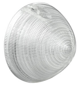 Cadillac Parking Lamp Lens, 1956 (without Fog Lamps)