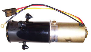 1954-1956 Cadillac Convertible Top Pump Motor Assembly (with Vertical Pump) Except Fleetwood