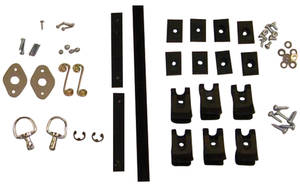 1971-76 Parade Boot Hardware Kit, Convertible (Eldorado)