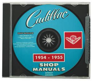 1954-1955 Cadillac Factory Shop Manual CD-ROM