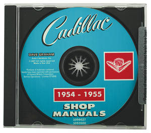 1954-55 Cadillac Factory Shop Manual CD-ROM