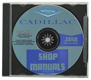 1959-1960 Cadillac Factory Shop Manual CD-ROM