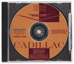 1962-1962 Cadillac Factory Shop Manual CD-ROM