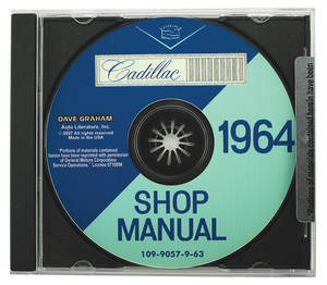 1964-1964 Cadillac Factory Shop Manual CD-ROM