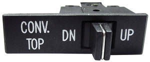 1969-1969 Cadillac Convertible Top Power Switch (DeVille & Calais)