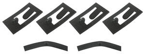 1957-1958 Cadillac Seat Switch Retaining Clips, Power (Six-Piece)