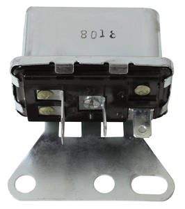 1969-70 Cadillac Blower Motor Relay (Except Eldorado, with Air Conditioning)