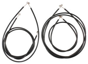 1957-58 Eldorado Heater Control Cables (Four-Piece)
