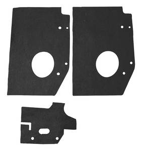 1968 Cadillac Radiator Seal - Radiator Supports (Three Pieces)