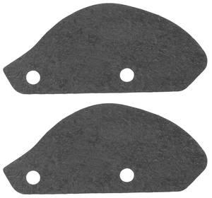 1961-62 Cadillac Headlight Filler Seals (Two-Piece)