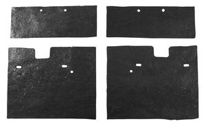 1968 Cadillac Headlight Filler Seals (Four-Piece) Eldorado