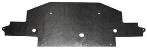 1971-72 DeVille Radiator Air Deflector, Lower (Except Eldorado)