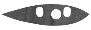1959-60 Cadillac Mirror Gasket, Outside