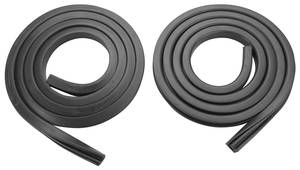 1954-1956 Cadillac Fender Skirt Seal Strip with Lip, by Steele Rubber Products