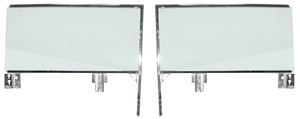 1959-60 Cadillac Door Glass Assemblies (2-Door Hardtop)
