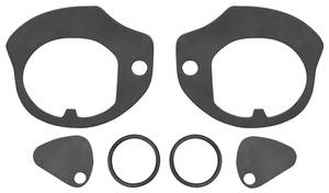 1961-1965 Cadillac Door Handle Gaskets, Outside (Series 75) Six-Piece, by RESTOPARTS