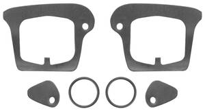 1967-1970 Cadillac Door Handle Gaskets, Outside (Except Eldorado) Six-Piece, by RESTOPARTS