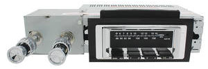 1956-1956 Cadillac Stereo, Vintage Car Audio 300 Series (Chrome Face)