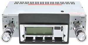 1971-73 Cadillac Stereo, Vintage Car Audio 100 Series (Chrome Face)