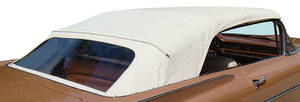 1959-60 Convertible Top With Plastic Window Bonneville and Catalina
